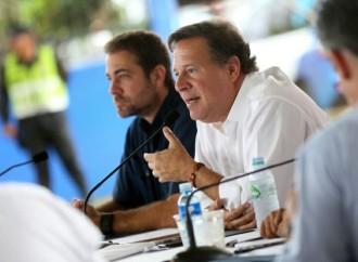 Gobierno ejecuta obras por más de 5 mil millones de balboas en Arraiján