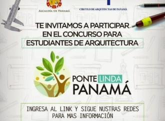 Si eres estudiantes de arquitectura deuna universidad panameña, un concurso espera por ti!