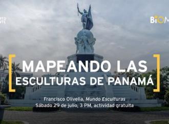 """Hoy en el #Biomuseo """"Mapeando las Esculturas de Panamá"""""""