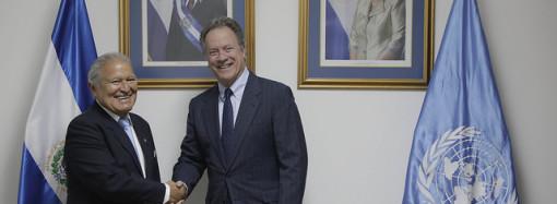 El Salvador yPMA reiteran compromiso de luchar contra la pobreza y el hambre