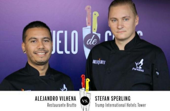 Stefan Sperling, Chef Ejecutivo de Trump Panamá representando en Duelo de Chefs