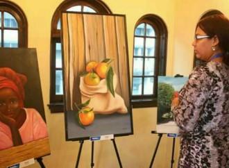 Estudiantes y Docentes exhiben muestra pictórica enCasa Museo del Banco Nacional de Panam en Colón