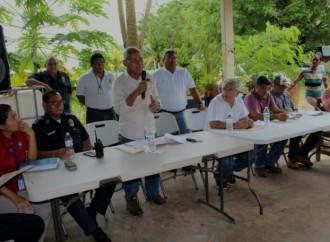 Autoridades atenderán puntos críticos en Los Lagos y Río Chico en Pacora