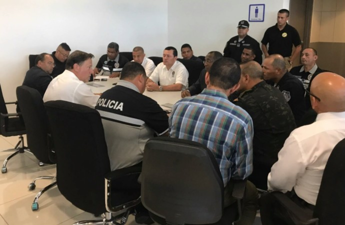 Presidente Varela respalda acciones contra las pandillas y el narcotráfico en Colón