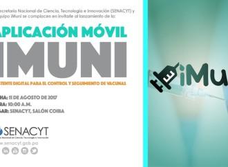 Hoy lanzanAplicación Móvil iMuni para el control y seguimiento de las vacunas