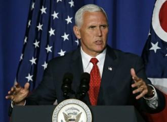 El Vicepresidente de EE.UU., Pence, llega a Colombia en visita oficial