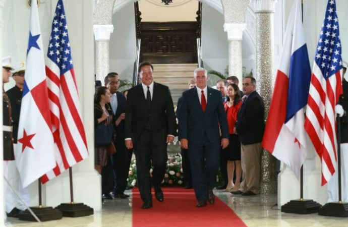 Descargue el Discurso de S.E. Juan Carlos Varela durante visita del vicepresidente de EE.UU. Michael Pence