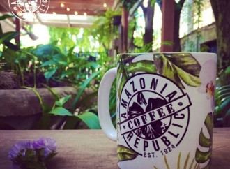 AMAZONIA REPUBLIC trae a Panamá el concepto Fusión Flowerstore & Coffeeshop