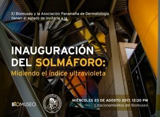 Biomuseo y Asociación Panameña de Dermatología inaugurarán Solmáforo