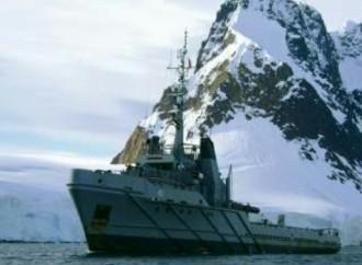 Argentina y Chile realizaron simulacro de rescate en la Antártida