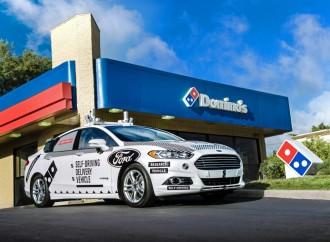 DOMINO'S® y FORD inician estudio sobre entregas de Pizza utilizando Vehículos Autónomos
