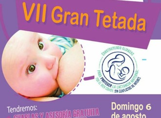 Culmina Semana Mundial de la Lactancia Materna con Gran Tetada en el Parque Omar
