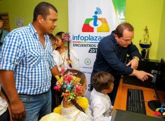 Más de 20,000 habitantes beneficiados con inauguración de6 nuevas Infoplazas en Veraguas