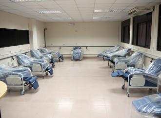 Sala de Hemodiálisis del Santo Tomás tiene un avance del 80%