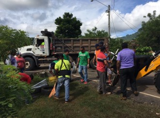 Realizan jornada de limpieza y prevención de Aedes Aegypti y Zika en Capira