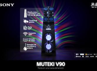 El nuevo Muteki V90 de Sony llevará sus fiestas a una nueva dimensión