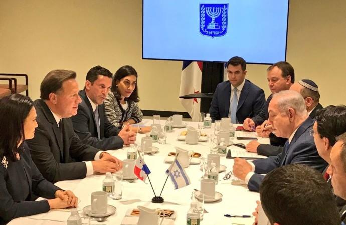Presidente Varela y Primer Ministro de Israel fortalecerán sus vínculos en materia de cooperación