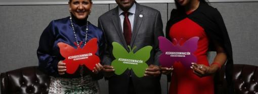 Movimiento Cero Discriminación liderado por Primera Dama de Panamá suma a activista y modelo Naomi Campbell