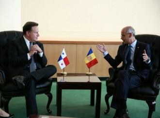 Presidente Varela se reunió con líderes de Andorra, Canadá, Curazao, Honduras y Palestina
