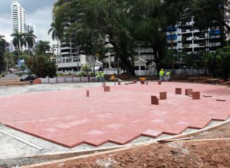Revitalización del Parque Urracá presenta un 60% de avance