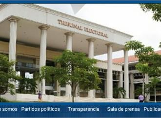 Web del Tribunal Electoral fue certificada por la ANTAIcon 100% de transparencia