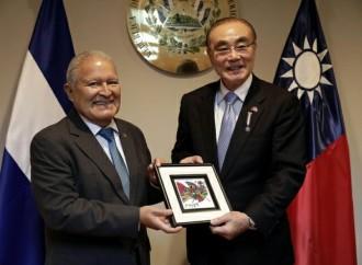 El Salvador y China (Taiwán) fortalecen relaciones de cooperación