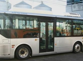 Alcaldía de Panamá inició prueba piloto con bus eléctrico enla ruta Casco Antiguo – Centro