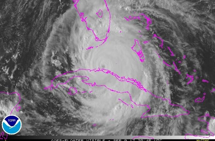 Irma avanza a Florida tras afectaciones en la costa norte de Cuba