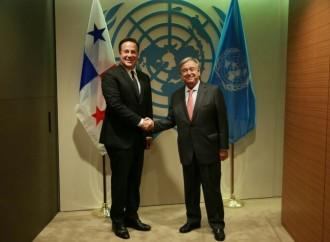 Presidente Varela reitera respaldo al rol de la ONU en el mundo