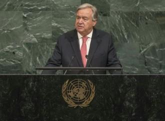 Somos un mundo en pedazos, necesitamos ser un mundo en paz, dice el Secretario General