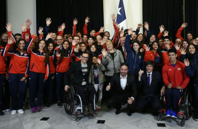 Chile será representado por 194 deportistas en los II Juegos Suramericanos de la Juventud Santiago 2017