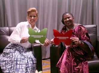 Primeras Damas de Panamá y Namibia estrechan lazos de amistad y comparten experiencias