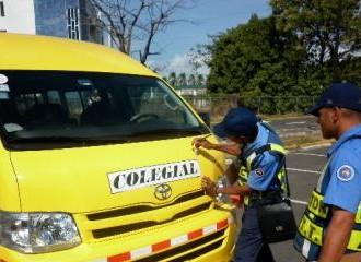 ATTT realiza operativo de inspección vehicular a los autobuses colegiales para el período 2019