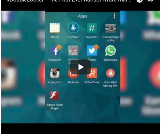 Descubren peligroso ransomware dirigido a usuarios de Android