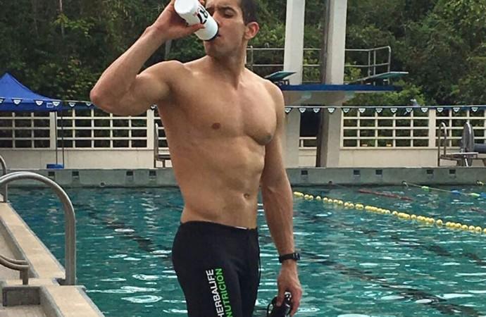 Edgar Crespo refuerza preparación para próximos Juegos
