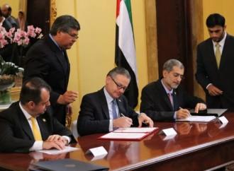 Costa Rica y Emiratos Árabes Unidos suscriben acuerdos de cooperación
