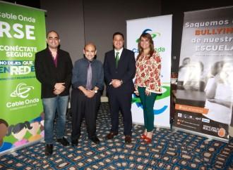 El Programa Conéctate Seguro de Cable Onda alerta sobre el cyberbullying en Panamá