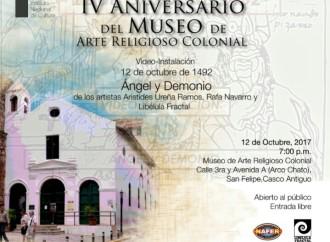 INAC conmemora el IV aniversario del Museo de Arte Religioso Colonial