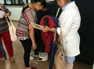 CSS realizó feria de promoción y prevención de salud en Policlínica de Boquete