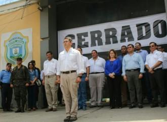 Gobierno hondureño cierraCentro Penal de San Pedro Sula