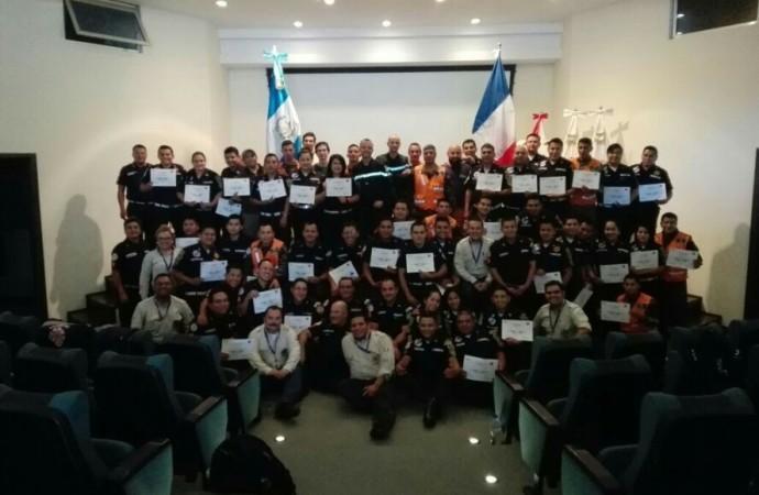 Inauguran en Guatemala Plan de Cooperación entre CONRED y Seguridad Civil Francesa