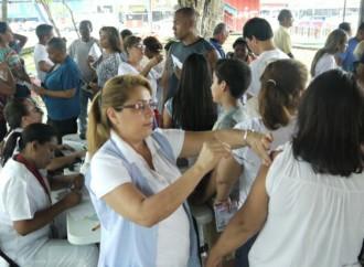 Comunidades aledañas al Parque de Juan Díaz participaron en Feria de Salud preventiva