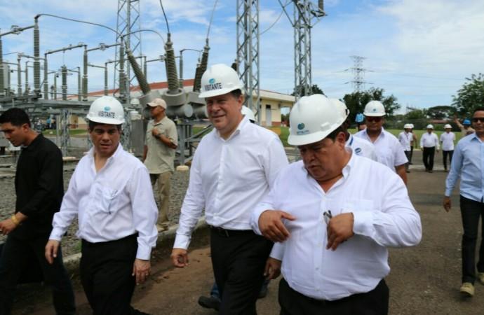 Gobierno fortalece sistema eléctrico con el funcionamiento de la tercera línea eléctrica de transmisión de Etesa