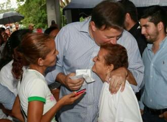 Presidente entrega viviendas dignas a familias chorreranas