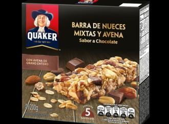 Quaker® lanza nutritivas barras de nueces mixtas y avena