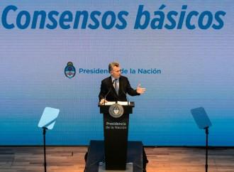 """Presidente Macri llamó a debatir los """"consensos básicos"""" para avanzar contra la pobreza"""