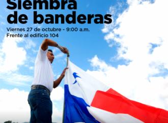 Participa este viernes en la siembra de Banderas en Ciudad del Saber