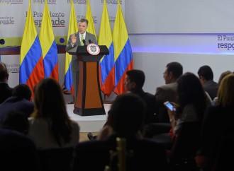 Presidente Santos viaja a Canadá para buscar más cooperación para la paz y más inversión en el país