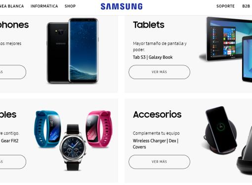 Samsung toma la delanteray se mete en el mercado online