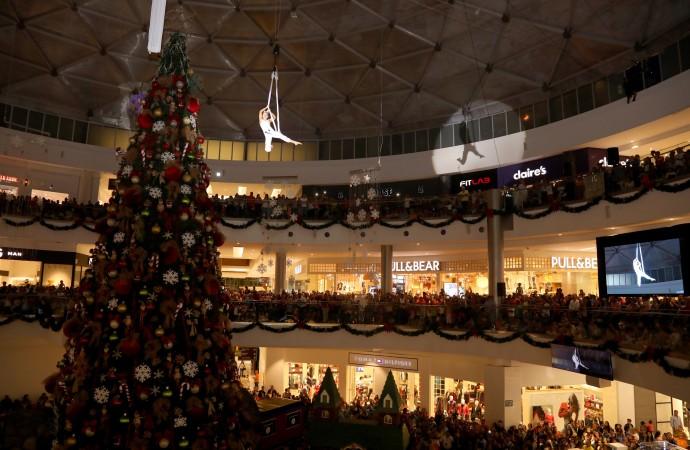 AltaPlaza Mall le dio la bienvenida a la Navidad